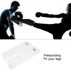Hình ảnh Thoáng khí Cổ Chân Bảo Vệ Chống trơn trượt Bảo Vệ Đệm Cho Boxing Kickboxing (Trắng S)-quốc tế