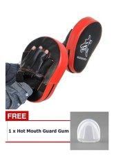 Buy 1 Get 1 Free ! 2X Boxing Mitt MMA Target Hook Jab Focus Punch Pad Training Glove Karate - intl - intl