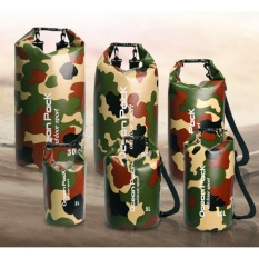 Camouflage Bags 5L Waterproof Dry Bag Dry Tube For Rafting Swimming Traveling Intl Mới Nhất