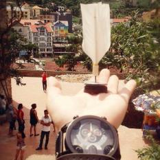 Hình ảnh Cầu Đá Lông Gà Handmade