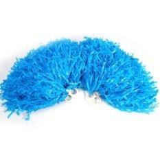 Hình ảnh Cổ vũ Pompoms Cổ Vũ Trang Phục hóa Trang Phụ Kiện Thể Thao (màu xanh dương)-quốc tế