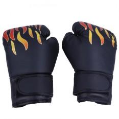 Con Quyền Anh Chiến Đấu Muay Thái Sparring Đấm Kickboxing Vật Lộn Bao Cát Găng Tay Màu Đen-quốc tế