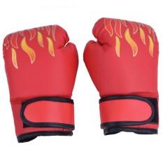 epayst Child Boxing Fighting Muay Thai Sparring Punching Kickboxing Grappling Sandbag Gloves Red