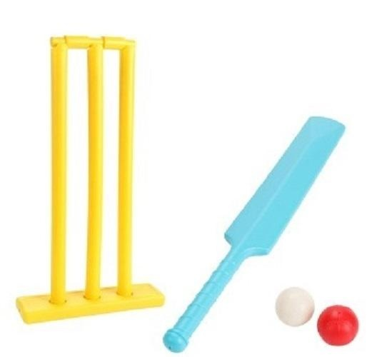 Children's Plastic Cricket Balls Playing Set Sports Toys Fitness Equipment Racquet Sports - intl