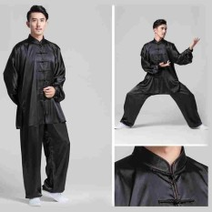 Hình ảnh Chinese Kung Fu Costumes Martial Arts Tai Chi Uniform Jackie Chan Style Suits - intl
