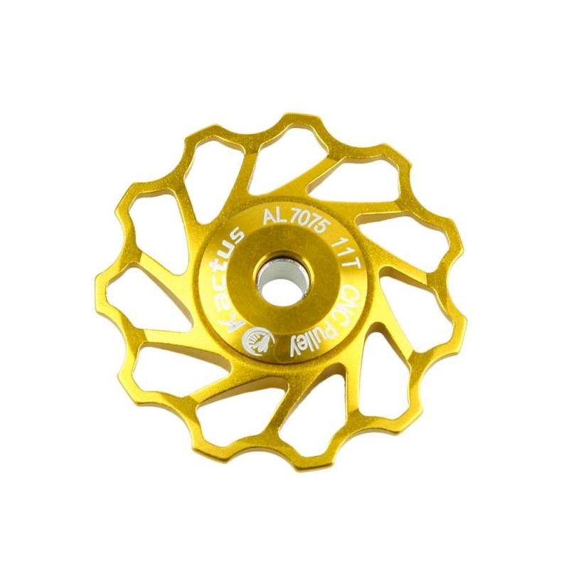 Phân phối Cokmp KACTUS Nhôm Jockey Bánh Xe Phía Sau Derailleur Ròng Rọc Shimano Sram (Vàng) (Vàng)-quốc tế