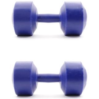 Combo 2 tạ tay nhựa đúc hoàn chỉnh 3kg (Màu ngẫu nhiên xanh hoặc đỏ) thumbnail