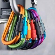 Hình ảnh Combo 5 chiếc, Móc khóa đa năng có ren chốt (8cmx4cm). màu ngẫn nhiên