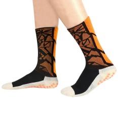 Hình ảnh Comfortable Soccer Socks Anti Slip Mid-calf Cotton Team Sports Fitness Equipment - intl