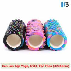 Bán Mua Con Lăn Matxa Tập Yoga Gym Thể Thao Cao Cấp D13 Foam Roller Hồ Chí Minh