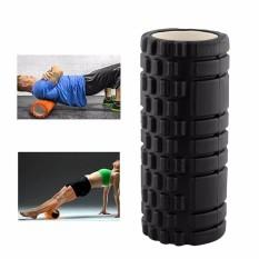 Con lăn tập yoga Pseudois (màu đen)