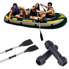 Hình ảnh Cổng kết nối Ống NHỰA PVC Đen Chèo Thuyền Kayak Bơm Hơi Vòi Phun Thuyền Trục Xuồng Vận Chuyển Thể Thao-quốc tế