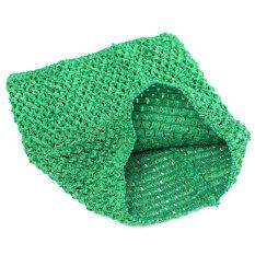 Hình ảnh Crochet Tube Top elastic Waistband Emerald - Intl