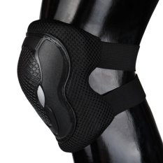 Cycling Roller Skating Protector Gear Pad Guard Set for Knee Elbow Wrist Durable - intl