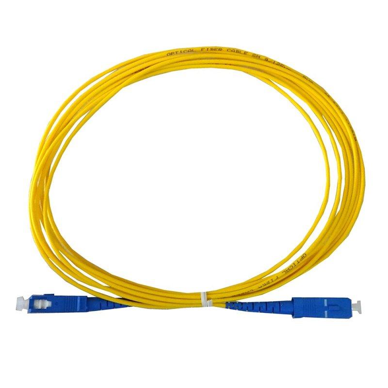 Dây nhảy quang  LC-LC Single-mode 3m (Vàng)