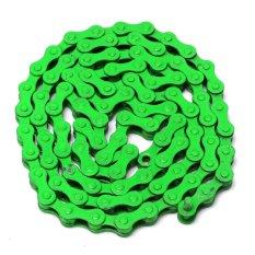 Chết coaster dây chuyền/xe đạp đường bộ dây chuyền màu/cố định bánh đường xe đạp dây chuyền/dây chuyền nhiều màu/ chết coaster chuyên dụng dây chuyền/đơn tốc độ liên kết Xanh Lá-quốc tế