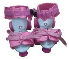 Hình ảnh Dép patin trẻ em Skates hồng