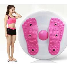 Hình ảnh Đĩa xoay eo tập thể dục giảm cân 360 độ kết hợp massge chân cao cấp