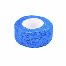 Hình ảnh Disposable Self-Adhesive Elastic Bandage For Handle Grip Tube Tattoo Accessories Blue - intl