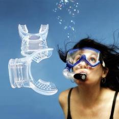 Hình ảnh Lặn Ống Thở Ống Thở Sillicone Bơi Màu Ngẫu Nhiên Mỹ Tốt-quốc tế