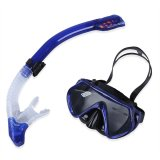 Mã Khuyến Mại Diving Water Sports Training Silicone Mask Glasses Dry Snorkel Set Intl Trong Vietnam