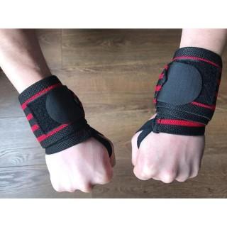 Bộ 2 đai cuốn cổ tay thể thao, tập gym cao cấp hiệu Aolikes - băng cổ tay thể thao - dây quấn cổ tay gym, phụ kiện thể thao thumbnail