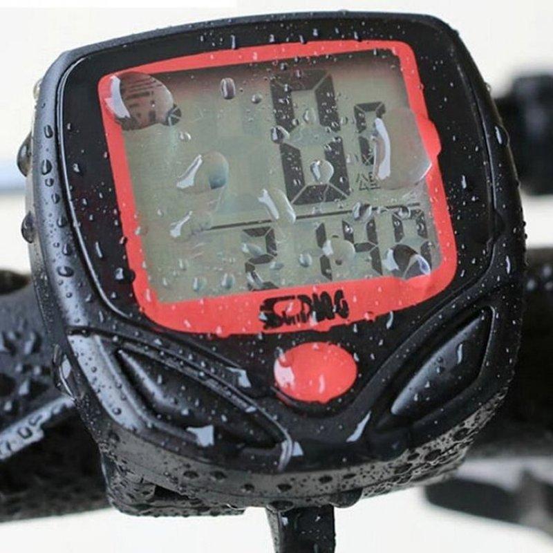 Mua Đồng hồ tốc độ xe đạp giá rẻ SD-548B (Đen)