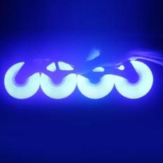 THỜI ĐẠI LED Flash Tốc Độ Bánh Xe Trượt Băng Giày Độ Cứng Phanh Bánh Xe Nội Tuyến Trượt Băng Nghệ Thuật-quốc tế