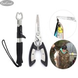 Bán Esogoal Fishing Grip Lip Gripper And Fish Holder With Fishing Pliers Stainless Steel Tools Cutter For All Fishing Including Carp Bass Pike And Trout With Sheath Intl Rẻ Trung Quốc