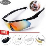 Esogoal Polarize Sports Cycling Sunglasses For Men Women Cycling Riding Running Glasses With 3 Interchangeable Lenses Intl Mới Nhất
