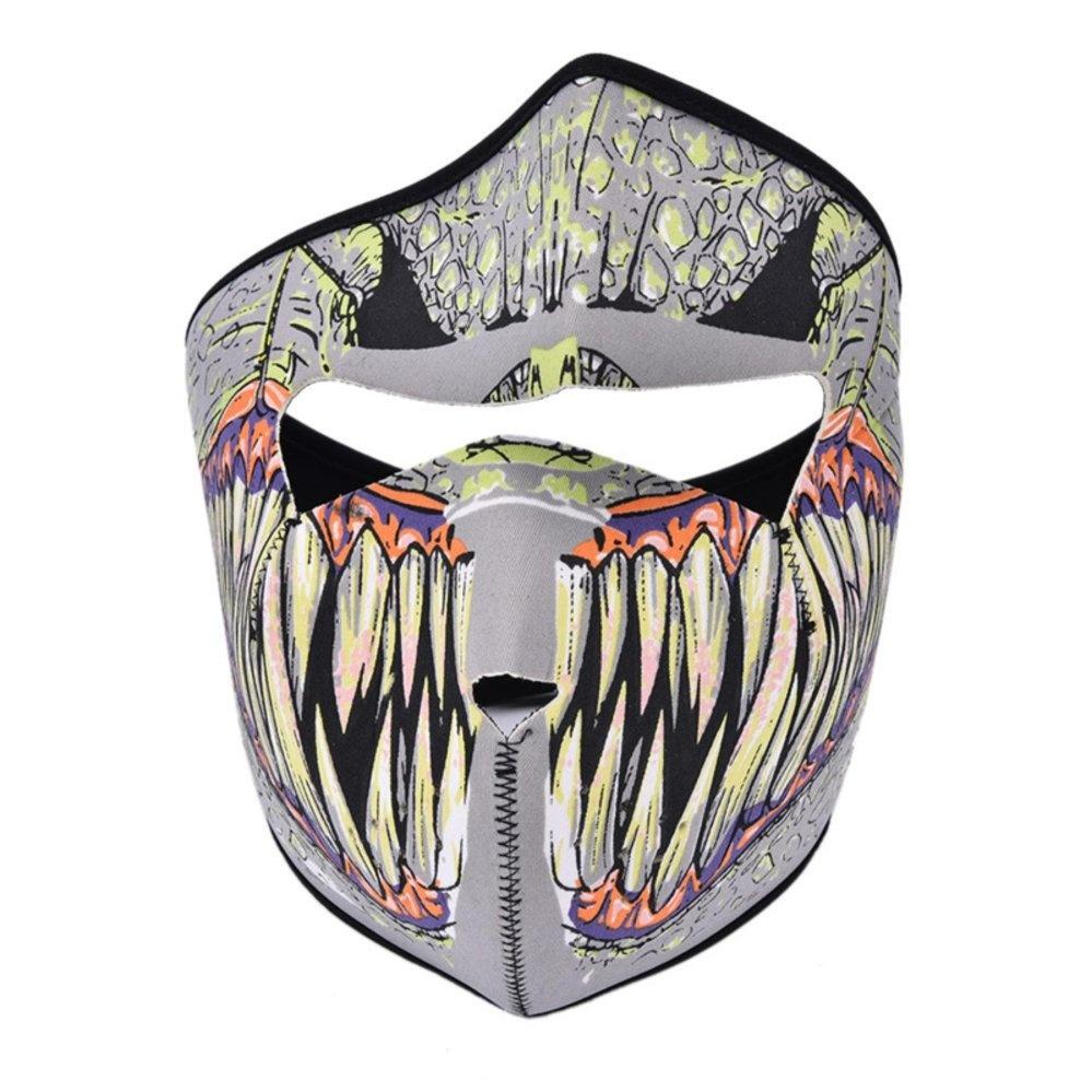 Fashion Balaclava Beanies Motorcycle Ghost Skull Face Mask Outdoor Sports Warm Ski Caps Bicyle Bikescarf B Full Face