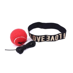 Hình ảnh Fight Ball PU Reflex Reaction Speed Training Boxing Punch Combat Muscle Exercise - intl