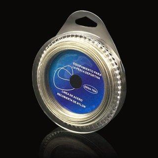 Câu cá dây thép dây Câu siêu mềm dây đường Bao bằng nhựa Chống Thấm Nước (Xanh Dương Phối Bạc)-quốc tế thumbnail