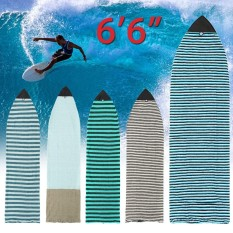 "Hình ảnh ☆For 6'6"" Surf board Longboard Funboard Socks Cover Storage Bag Protective Case - intl"