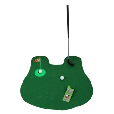 Hình ảnh Funny Toilet Mini Putter Putting Game Novelty Gift - intl