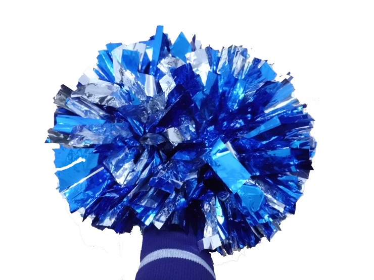 Game Pompoms Cheap Practical Cheerleading Cheering Pom Poms Apply to Sports Match and Vocal Concert - intl