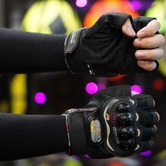 Hình ảnh Găng tay bao vệ tay phượt thủ - Quốc tế - Lazada - Nữa ngón GT101N