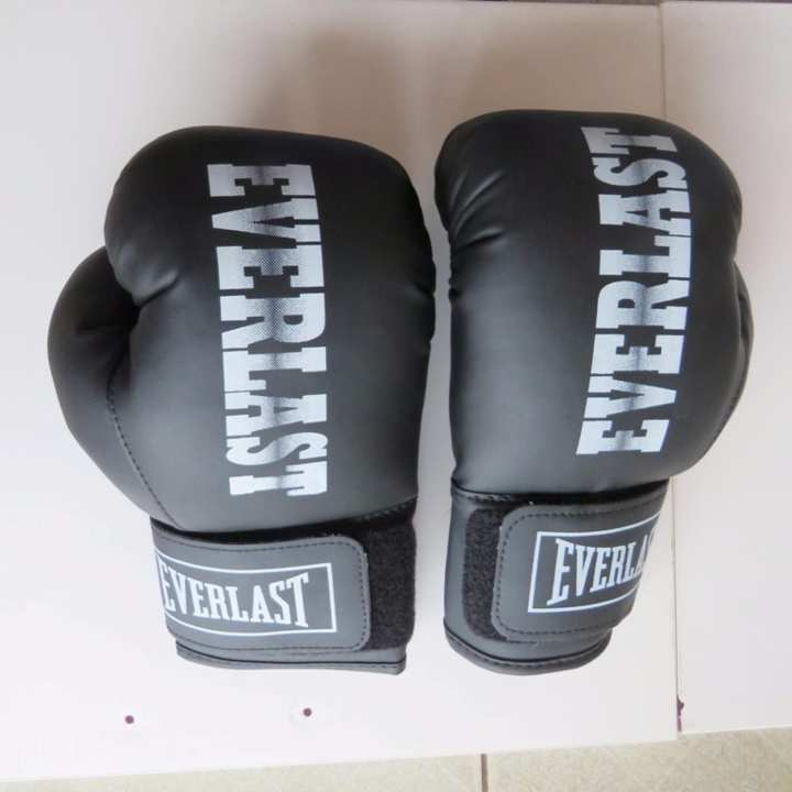 Găng Tay Boxing Everlast 8.0z (Đen)