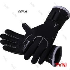 Găng tay lặn biển 3mm, chất liệu cao cấp, chống trơn trượt, giữ ấm hàng thể thao chuyên dụng cao cấp - POKI