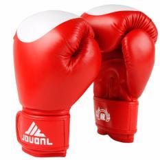 Mua Găng Tay Tập Boxing Jduanl Chấm Tron 10Oz Đỏ Rẻ Vietnam
