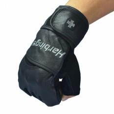 Hình ảnh Găng tay tập gym trợ lực cổ tay Harbinger Pro size M