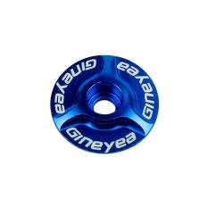 gaoshang Bicycle Bike CNC Aluminum Bike Headset Cap 1-1/8(Blue) - intl