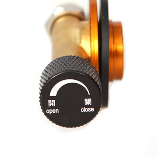 ... Gas Refill Adapter Flat Cylinder Coupler Valves For Outdoor Camping Cooker - intl ...