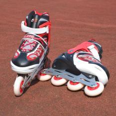 Giầy Patin Inline Skate ASL 6007 30/33 (Trắng đỏ)