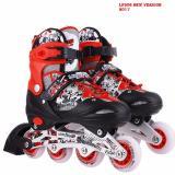 Bán Giầy Trượt Patin Cao Cấp Cho Trẻ Em Lf906 Size L Đỏ Đen Mới
