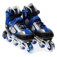 Hình ảnh Giày trượt Patin cao cấp dành cho trẻ em - màu xanh