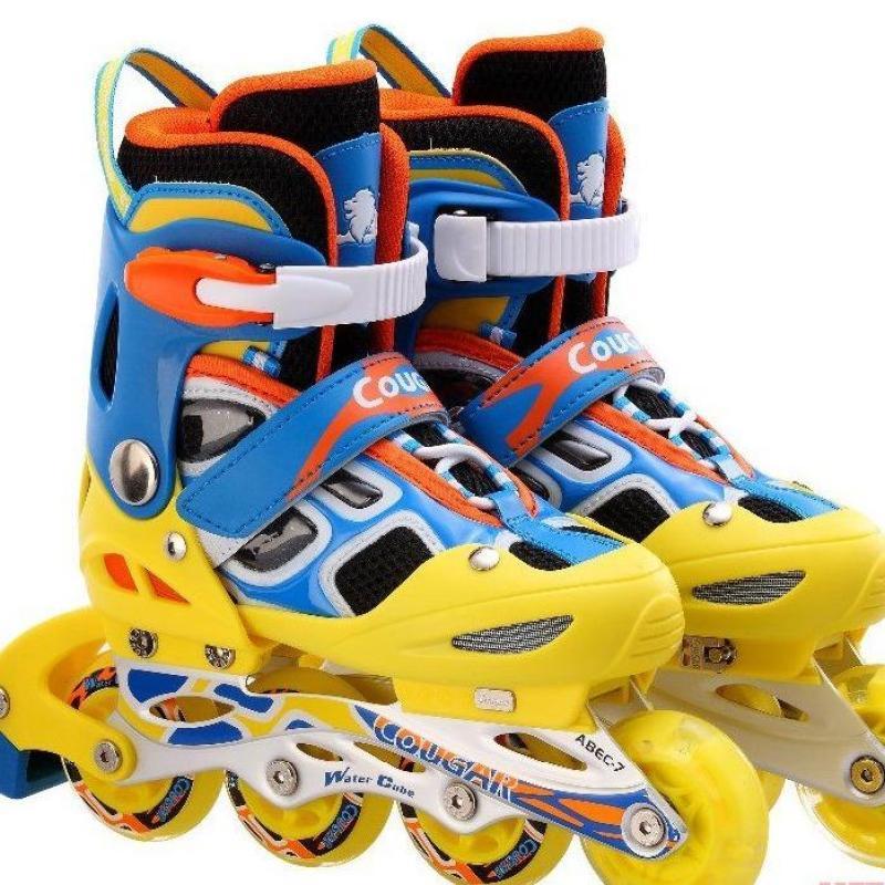 Mua Giày trượt Patin cao cấp Cougar có đèn 835LSG nhiều MÀU-  Full box ĐỒ TẬP TỐT
