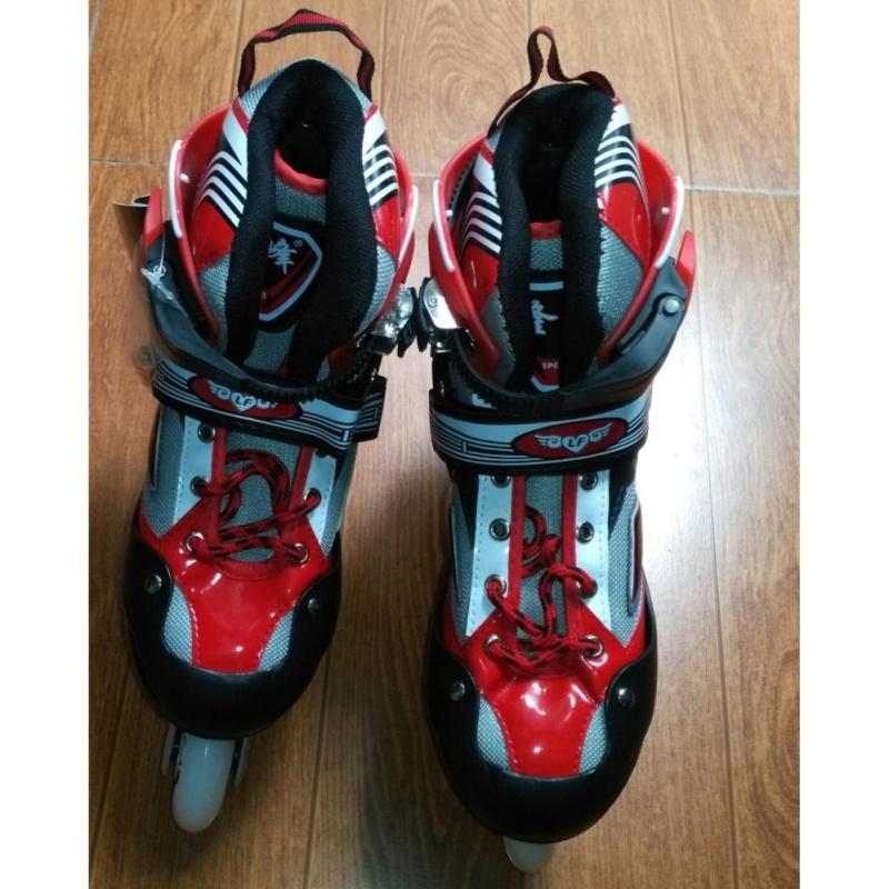Phân phối Giày Trượt Patin Long Feng 906 New (màu đỏ trắng)