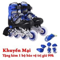 Giá bán Giày trượt patin Long Feng 906 + Tặng bộ bảo vệ đầu gối, tay, chân GC-0001