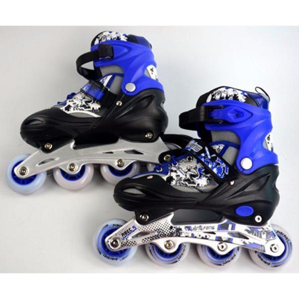 Mua [Lấy mã giảm thêm 30%]Giày trượt patin Long feng 906 trẻ em size M (34-37)